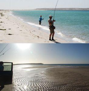 pesca desde la orilla Mauritania